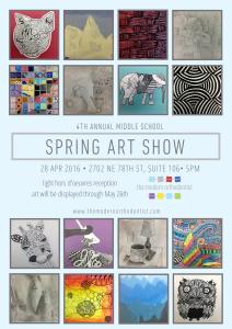 Art Show 2016 Flyer
